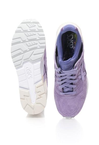 Asics Pantofi sport din piele intoarsa cu detalii contrastante Barbati