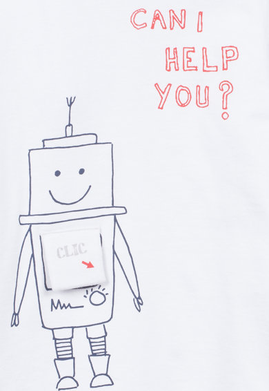 Z Kids Bluza cu imprimeu grafic si text Baieti