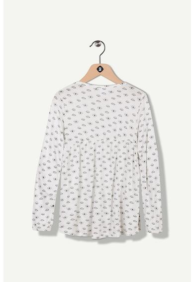 Z Kids Разкроена десенирана блуза Момичета