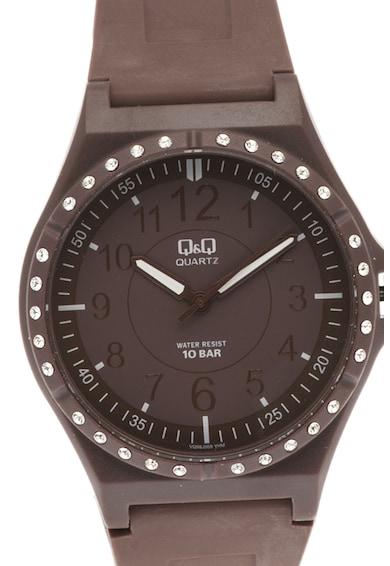 Q&Q Кварцов часовник с пластмасова каишка Мъже