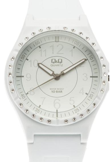 Q&Q Ceas cu mecanism quartz si curea din plastic Barbati
