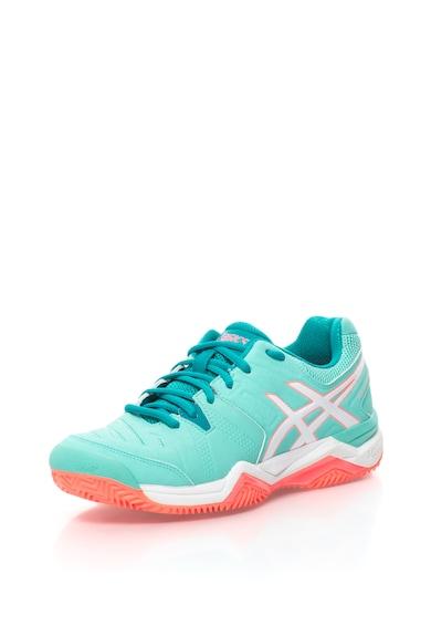 Asics Pantofi cu detalii contrastante, pentru tenis Femei