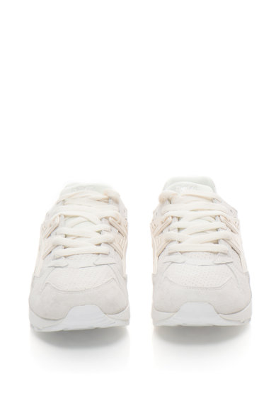 ASICS Tiger Pantofi sport de piele intoarsa cu detalii perforate GEL-KAYANO, Unisex Barbati