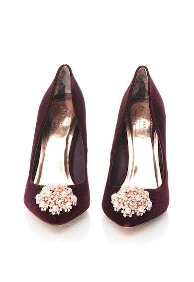Ted Baker Pantofi stiletto catifelati cu decoratiuni Peetch Femei