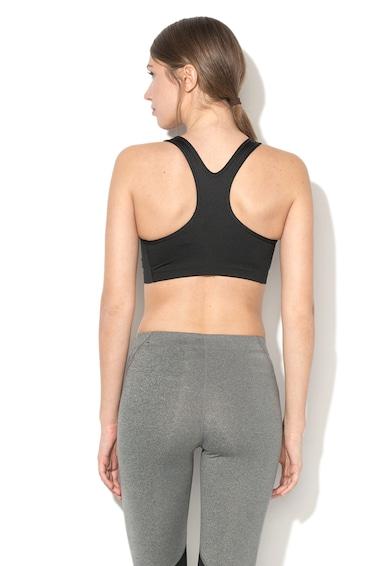 Nike Bustiera de compresie cu spate decupat, pentru fitness Dri-Fit Femei