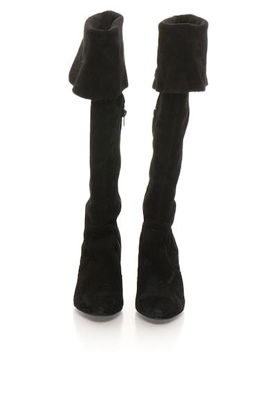 Vero Moda Cizme de piele intoarsa inalte peste genunchi Femei
