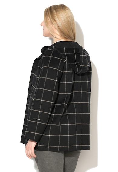 PERSONA BY MARINA RINALDI Palton din amestec de lana cu gluga Novembre Femei
