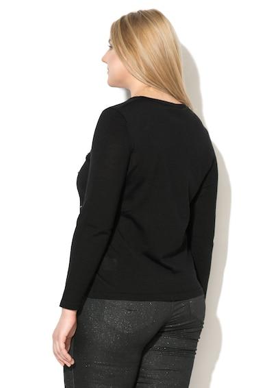 PERSONA BY MARINA RINALDI Pulover din amestec de lana, cu strasuri Femei