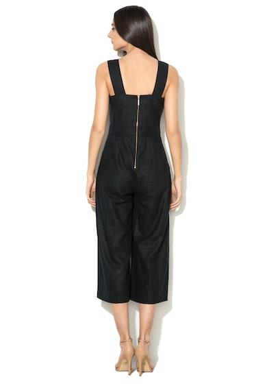 Closet LONDON Salopeta culotte din amestec de lana cu buzunare frontale Femei