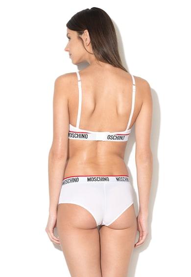 Moschino Sutien bandeau cu banda logo Femei