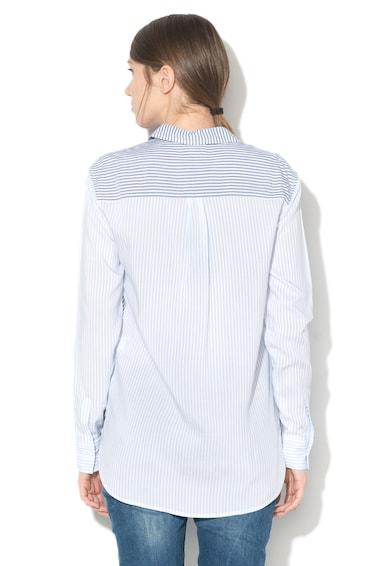 Pepe Jeans London Camasa in dungi cu model colorblock si buzunar aplicat Mila Femei