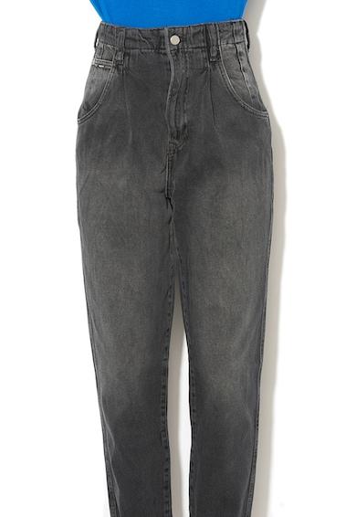 Pepe Jeans London Blugi mom fit cu talie inalta si aspect decolorat Daisie Femei