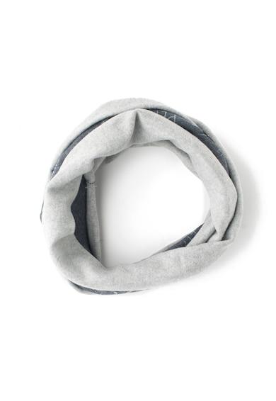 Pepe Jeans London Fular circular cu imprimeu si terminatii rasucite Baieti