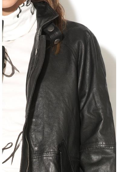Pepe Jeans London Jacheta de piele Hilary Femei