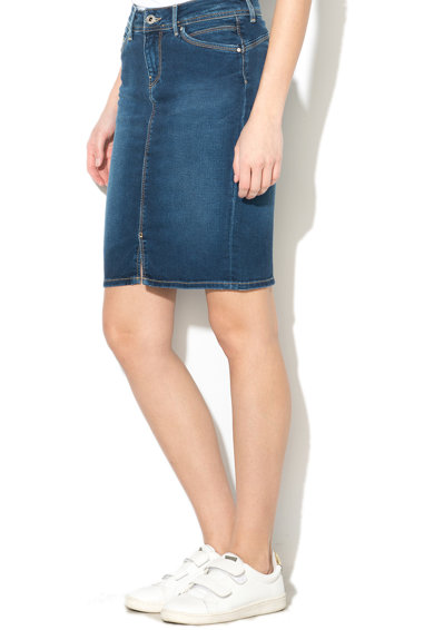Pepe Jeans London Fusta slim fit din denim cu buzunare Taylor Femei