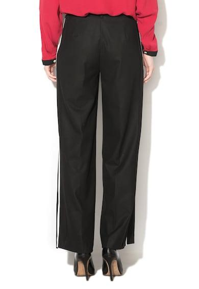 United Colors of Benetton Pantaloni cu croiala ampla si vipusca Femei