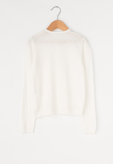 United Colors of Benetton Cardigan din tricot fin cu paiete Fete