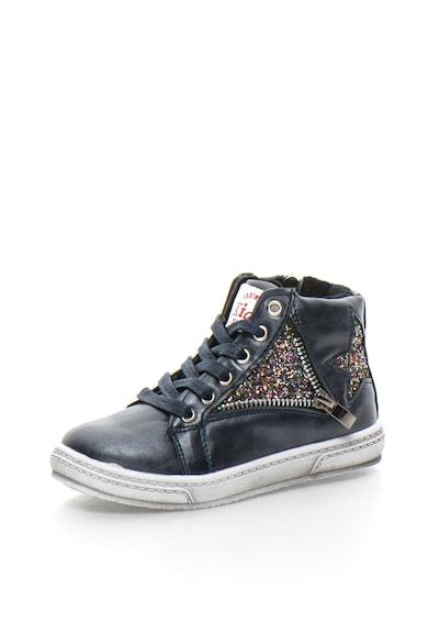 BIG STAR Pantofi sport mid-high din piele sintetica cu detalii stralucitoare Baieti