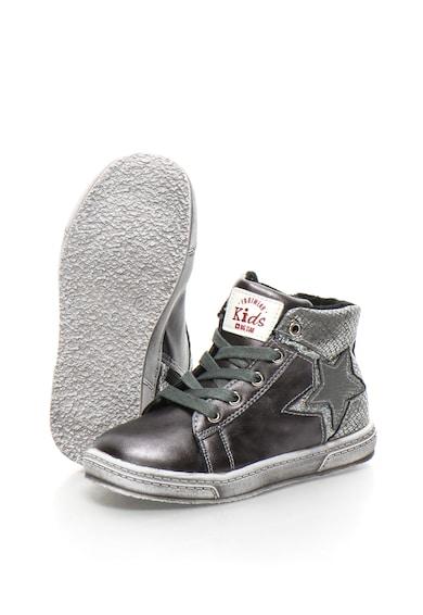 BIG STAR Pantofi sport mid-high cu captuseala din terry Baieti