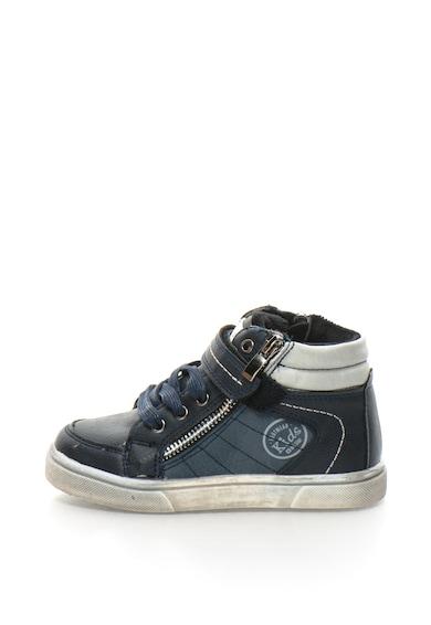 BIG STAR Pantofi sport mid-high din piele sintetica cu captuseala din terry Baieti