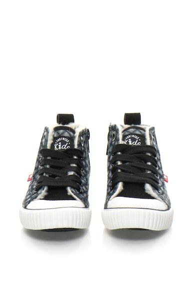 BIG STAR Pantofi sport mid-high din denim Baieti