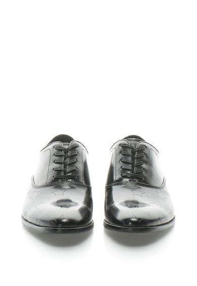 Aldo Pantofi Oxford de piele cu model stantat cu stele Barbati