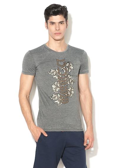 GUESS JEANS Slim fit logómintás póló 5 férfi