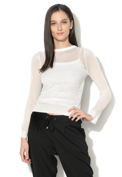 GUESS JEANS 2-in-1 megjelenésű pulóver női