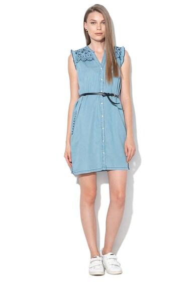 Pepe Jeans London Къса рокля Lura с колан Жени