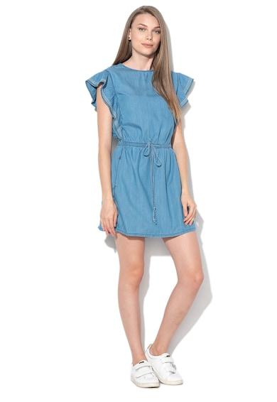 Pepe Jeans London Glade rövid ruha zsebekkel női