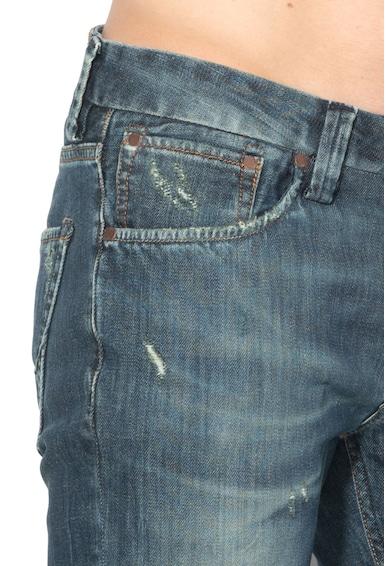 Pepe Jeans London Blugi cu rupturi decorative Cash Barbati