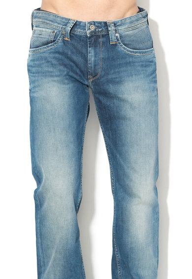 Pepe Jeans London Blugi relaxed fit cu aspect decolorat Barbati