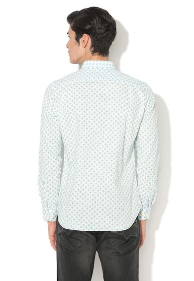 Pepe Jeans London Camasa regular fit cu model geometric Molin Barbati
