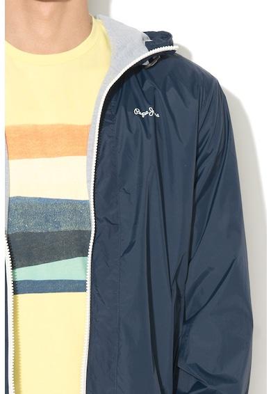 Pepe Jeans London Яке Agar с качулка и предни джобове с цип Мъже