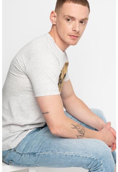 Pepe Jeans London Втлена тениска Charing с щампа с лого Мъже