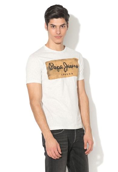 Pepe Jeans London Charing logómintás szűk fazonú póló férfi