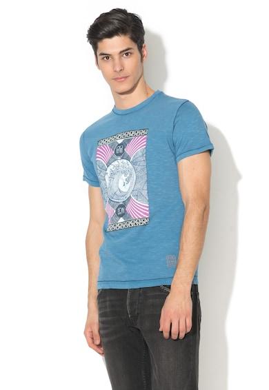 Pepe Jeans London Tricou slim fit cu imprimeu grafic Torey Barbati