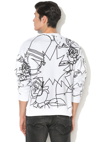 Pepe Jeans London Bluza sport cu imprimeu grafic Clapham Barbati