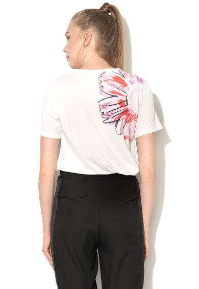 Andy Warhol by Pepe Jeans Tricou cu imprimeu floral Vanessa Femei
