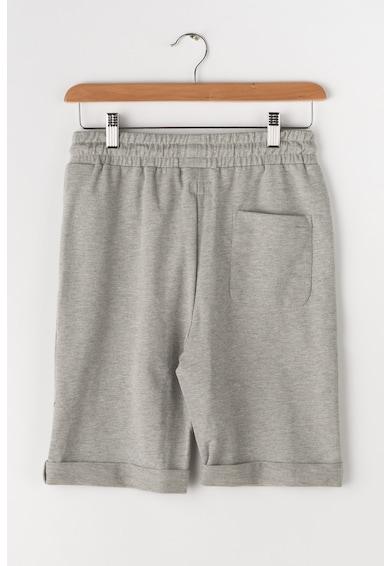Pepe Jeans London Bermude scurte cu garnituri tubulare laterale si mansete pliabile Ronic Baieti