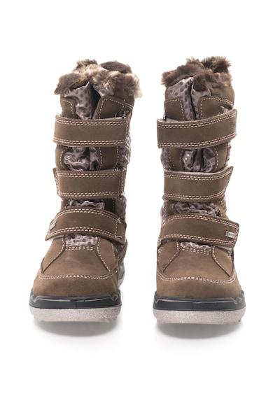Primigi Cizme de iarna cu garnituri din piele intoarsa Baieti