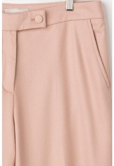 Stefanel Pantaloni din amestec de lana cu croiala ampla Femei