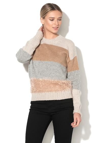 Stefanel Pulover din amestec de lana in dungi Femei