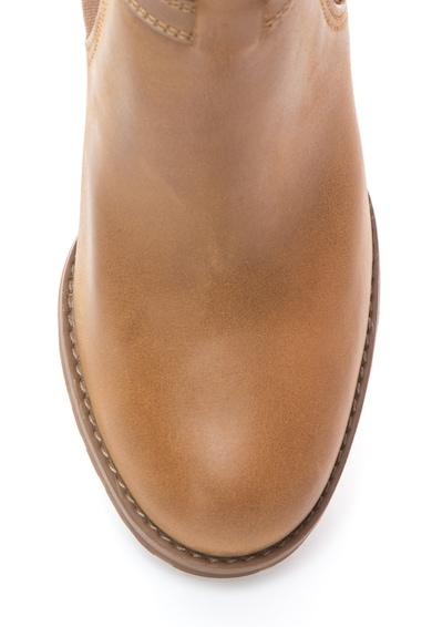 Timberland Bőr magas sarkú chelsea csizma női