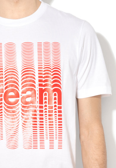 Diesel Тениска с гумирана щампа Мъже