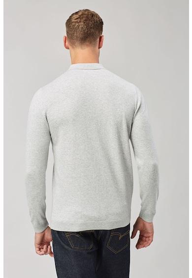 NEXT Set de bluze polo cu mansete striate - 2 piese Barbati
