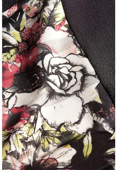 NEXT Virágmintás kerek nyakú póló női