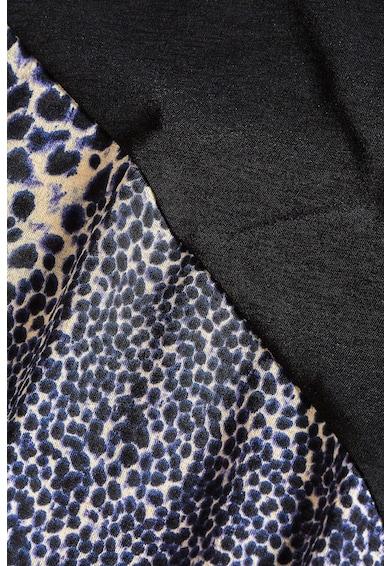 NEXT Bluza lunga cu decolteu in V si terminatie asimetrica Femei