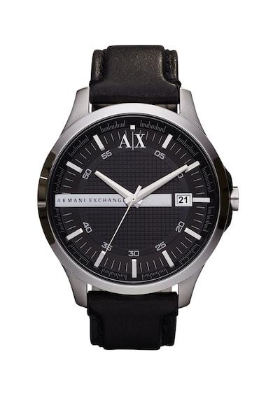 ARMANI EXCHANGE Часовник Hampton с кожена каишка Мъже
