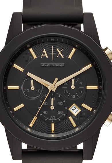 ARMANI EXCHANGE Комплект часовник Outerbanks и етикет за куфар Мъже